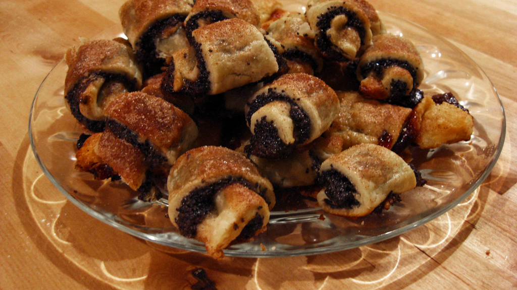 Chocolate Rugelach Rugelach (adapted from dorie
